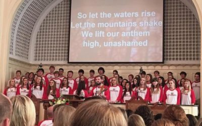 Youth Choir from First Baptist, Eufaula, AL  in Concert