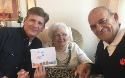 Louise Petiprin Celebrates Her 100th Birthday!