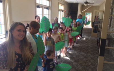 Palm Sunday March with Children